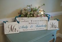 Personalized Sign Ideas / by Heather Hughes