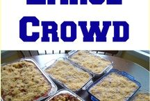Cooking for a crowd and Freezer meals / by Beth Modder