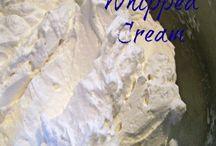 Whipped cream / by Stephanie Edwards