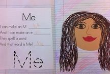 VPK all about me unit / by Lora Brown