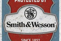 Smith and Wesson / by Sylvia Strickland