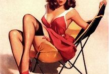 My favorite Pin ups / by Pam Grothmann