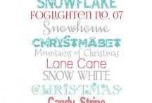 Fonts / by Carey Gardner
