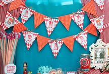 Vintage Circus Party / by Sassaby DIY Printable Parties