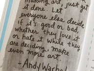 Art quotes / by Kristi Garcia