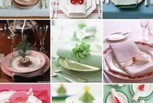 Set the table with paper / by Copper Willow Paper Studio