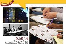 Colloquium 14 / Communication Colloquium 2014 / by KSU Department of Communication