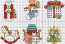 cross stitch xmas / by Judy Knighton