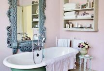bathroom / by Haley Williams | The Yellow Peony