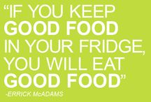 Food = Fuel / by Suzanne Sergis