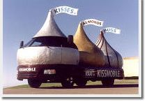 "Hershey's Kissmobile / When you visit the AACA Museum, make sure to get a picture with the Kissmobile! Pin it with ""Kissmobile"" in the comment box, and we'll share it here! / by AACA Museum"