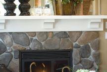 Fireplace Ideas / by Kerrin Livingston