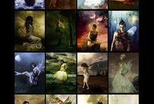 Elves ~ Fae ~Fairies ~  Pixies ~ Etc ... / by Debbie Parsons