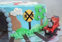 Train Cake / by Fancy Fondant Cakes by Emily Lindley