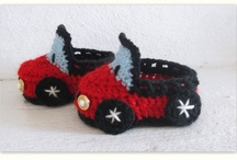 Crochet Booties Boy / by Angela Lewis