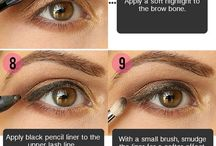 Eyeshadow Tutorials / Great Eyeshadow tutorials from around the world. / by Cosmetically-Challenged.com