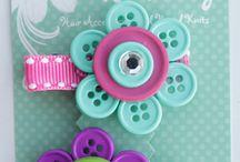 button crafts / by RhondaSue Wickerham