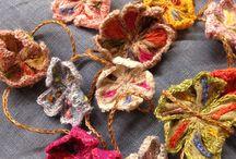 Bijoux textiles / papiers / by Annette Meuwly