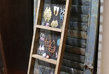 Jewelry Display / Ways to make jewelry even more enticing / by Claire Scott