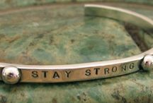 Recovery Quotes / Words of hope and inspiration to empower oneself everyday. A beautiful sentiment especially meaningful for those in recovery ... celebrating sobriety and freedom from addiction. / by TobyandMax Jewelry