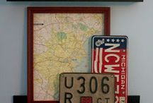 License Plates / by Mary Ann Bumgarner Baker