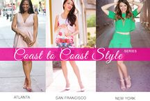 Coast to Coast Street Style / This board contains pins from a blogger style collaboration called Coast to Coast Street Style. Pinners include Johnnalynn of StushiGal Style, Alina of Style by Alina and Jessica of Dressed by Jess.   / by StushiGal Style