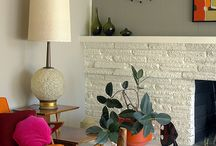 Interior style:mid century modern / by Kyra Williams