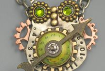 Steampunk jewelry / by Martina Fuchs