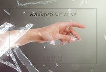 Wounded but Alive / Digital Painting & Photo Manipulation project (about my accident) / by 4Cruz Design