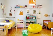 Kids Spaces / by Bewildered Mom .