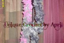 Crochet scarves / by Robin Hill