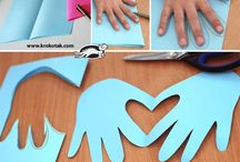 Hand Print Ideas / by Jeannette Smith