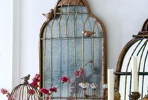 Mirrors / by Malmaison {French Style For Your Home}