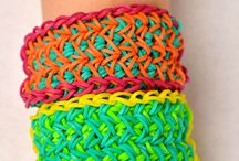 LoomLove.com Original Designs / All of these designs were created by Emily and Maddie at LoomLove.com / by LoomLove.com