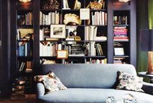 bookshelves / by Heather Peterson
