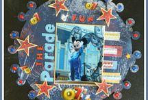Disney Scrapbook Layouts / by Heather Gibbs