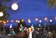 outdoor wedding reception / by Kaila Hendon