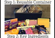 ~COLLEGE CARE PACKAGES~ / by Lisa Stuckey