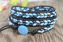 Wraparound bracelets / by Diana Rehfield