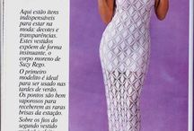 Crochet dress / Vestidos completos a crochet / by Martha Salazar