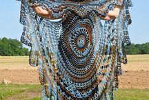 Crochet shawls/wraps/ponchos / by Helen Mahan