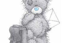 ♡  tatty teddy & friends ♥ / by Kristie Hammock