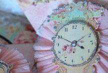 clocks / by ruth bennett