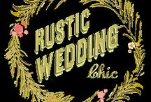 A Rustic/Country Wedding / Rustic, Elegant, Sparkly, Burlap, Country Wedding  / by Teresa Hasty