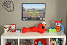 LilMans New BigBoy Room / Toddler Room Ideas / by Shawna Bouwmeester