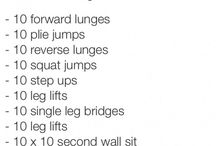 Workouts  / by Kat Cartwright