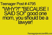 Teenager Post / by Kayla Barker