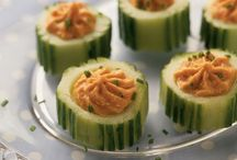 Cooking: Extreme Holiday Recipe Makeover / Retire your old holiday menu with and make this year's feast stand out with fun and healthy dishes like Holiday Cucumber Cups and Bulgar Stuffing with Dried Cranberries and Hazelnuts. Full list of these recipes from our Registered Dietitians here: http://www.uky.edu/hr/wellness/exclusive-offerings/extreme-holiday-recipe-makeover / by UK Wellness
