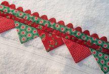 barradinhos(tecido e croche) / by Suzete Nakandakare