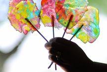 I [heart] Rainbows / I love color, so anything rainbow lights up my day ;) / by Joy Tilliridou
